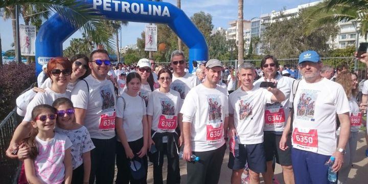MaRITeC-X at the Limassol Marathon