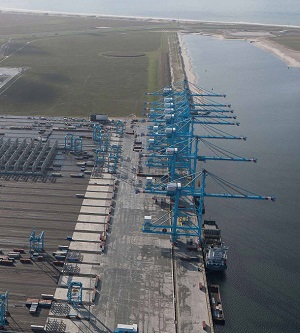 terminal - Most advanced container terminal in the world