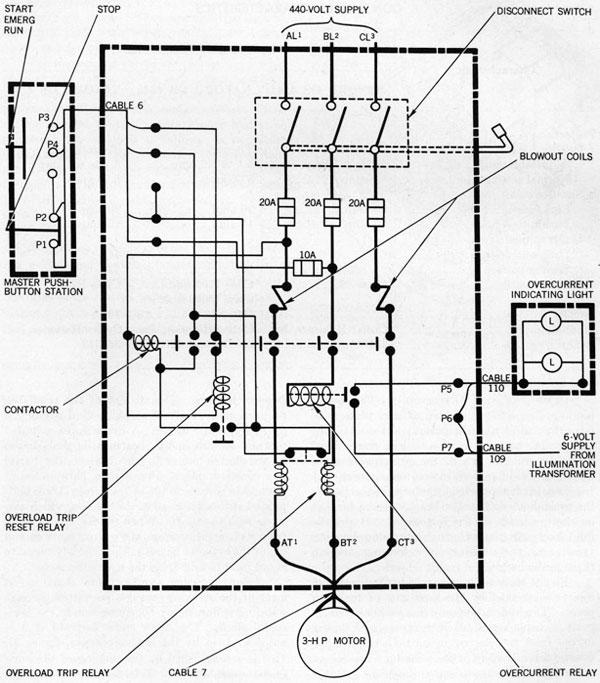 eaton combination starter wiring diagram  1962 corvette