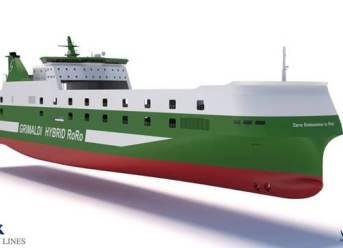 Kongsberg Awared Contract for Grimaldi's Nine Hybrid RoRo Vessels