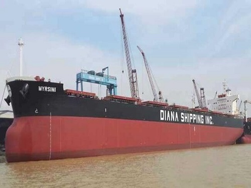 Diana Shipping Enters Time Charter Contract With Uniper 1