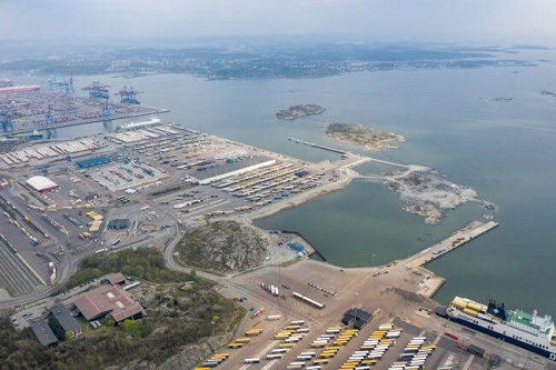 Port Of Gothenburg Reaches Its Turning Point In The Largest Development At Port 1