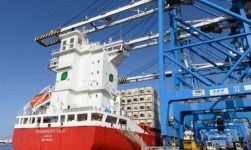 First LNG-Powered Container Ship Welcomed By Malta Freeport Terminals