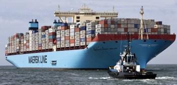 Maersk modifica los servicios que conectan Europa con Asia
