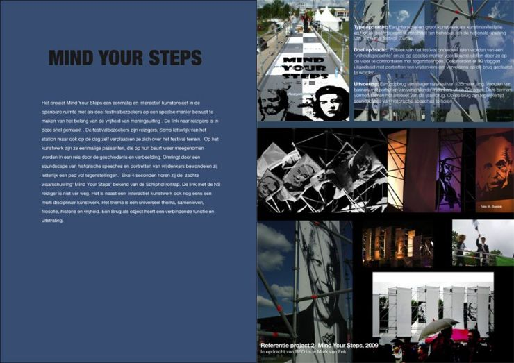 Mind Your Steps 2009