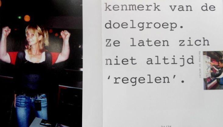 Uit het boek ' Van de Straat' Marit en de armen van Emiel door Giel.