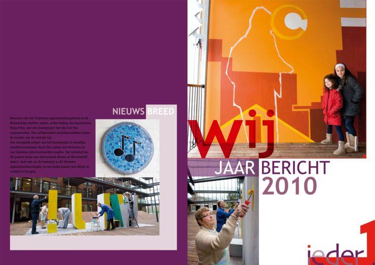 Publicatie jaarbericht Ieder1