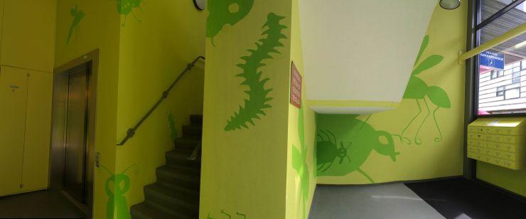 Aanzicht trappenhuis