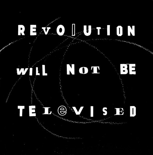 revolution-will-not-be televised-2019-verbal-no8-tekst-on-op-canvas-marit-otto-2019