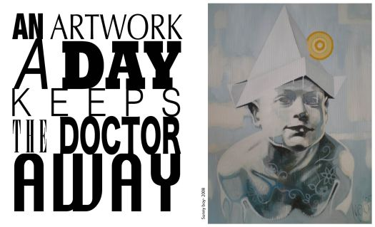 Sunny Boy -2008- One  Artwork A Day  Keeps The Doctor Away