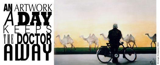 An artwork A Day- Strange Company-2004