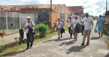 Dia D de combate ao mosquito da dengue em Marituba