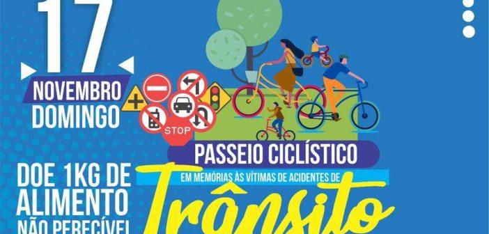Prefeitura de Marituba e Detran realizarão Passeio Ciclístico em memórias às vítimas de acidentes de trânsito neste domingo (17)