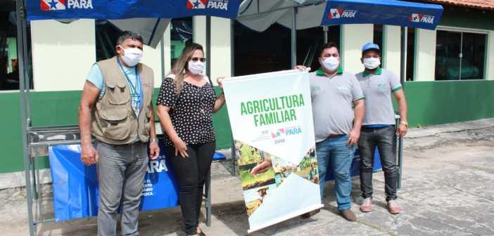 Parceria entre Prefeitura de Marituba e Governo do Estado garante barracas padronizadas para agricultores e feirantes