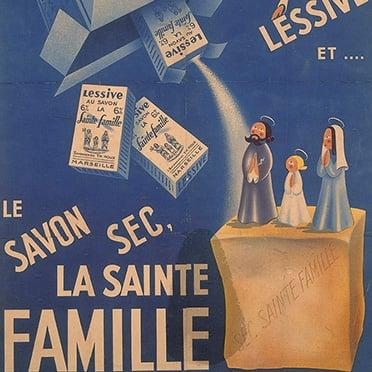 """""""La Sainte Famille"""" marseille soap brand"""