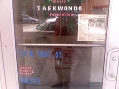 Taekwondo Door