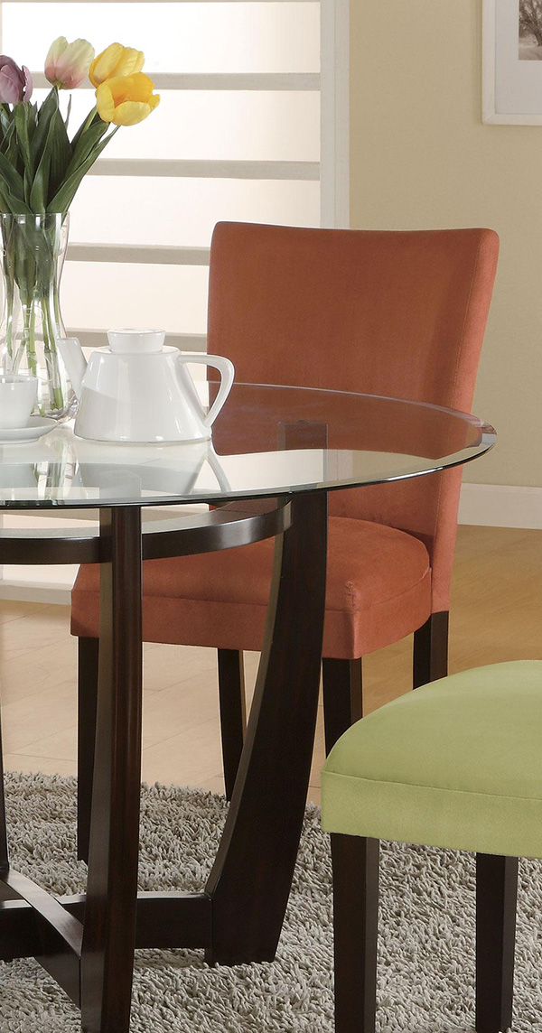 Bloomfield 5 Piece Dinette Set Chairs Available In 5 Colors Marjen Of Chicago Chicago