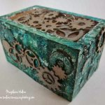 Foil Embossed Trinket Box with Gina's Designs