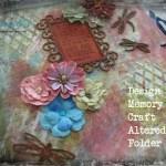 Design Memory Craft Altered Folder