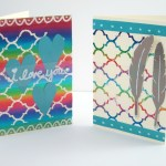 Foiled Happy Mail Cards