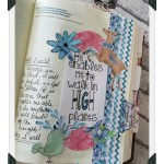 Bible Journaling Collaboration with Praise Heart