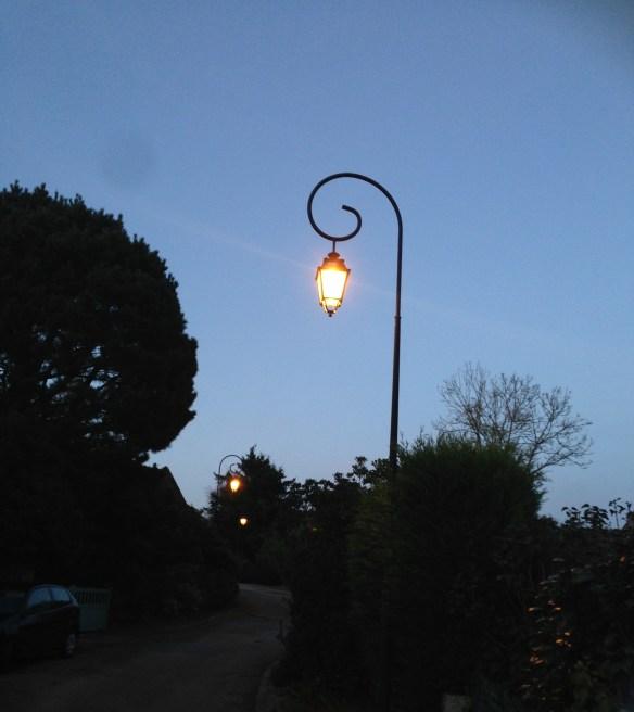 lampadaires Harry Potter