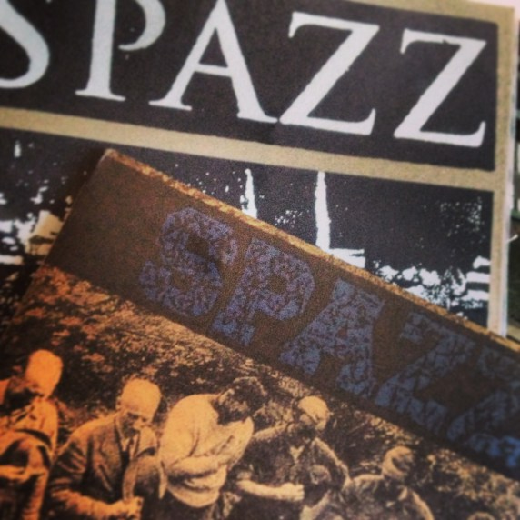 Spazz LP's La Revancha and Dwarf Jester Rising