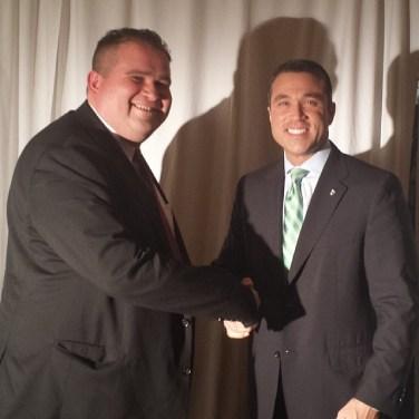 Statman with Congressman Michael Grimm