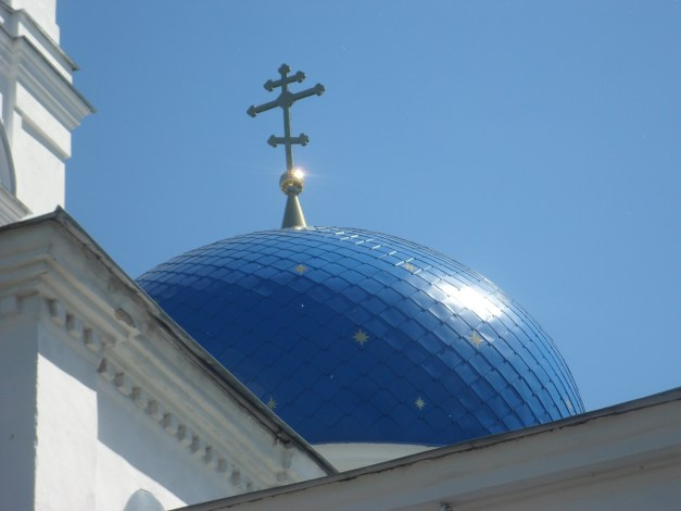 A lot of churches in Tomsk