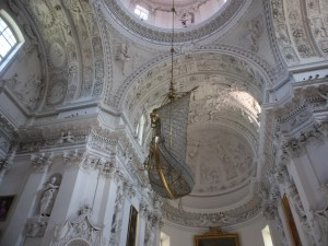 Rococo insanity at the Church of Saints Peter and Paul