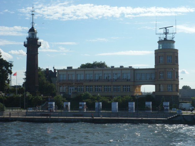The Novy Port lighthouse, which returned the first shots against the German invaders
