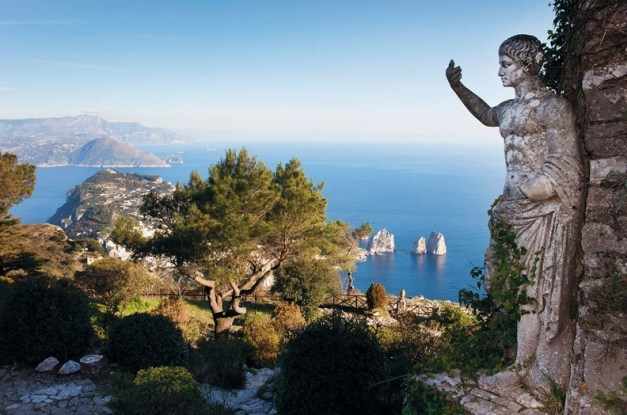 I just stole this picture of Capri from the web ... a sample of things to come
