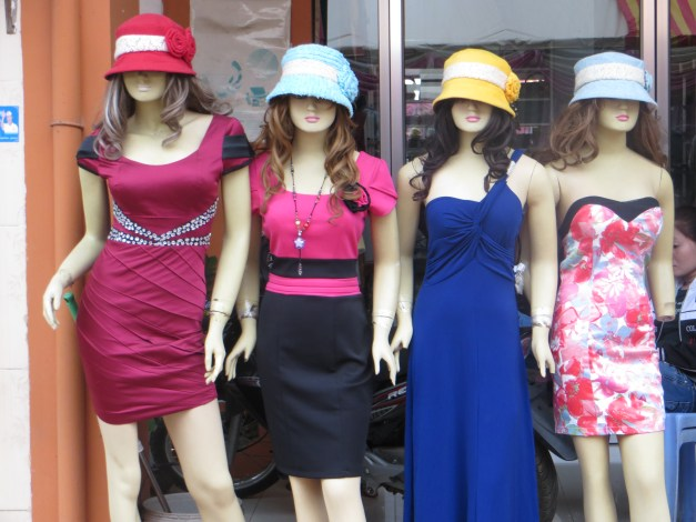 Fashion in Kompong Chom