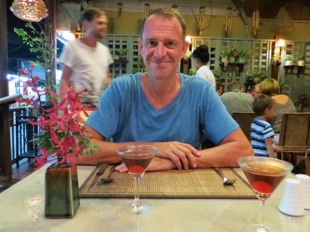 And on rare occasions one can find a good cocktail -- here in Hua Hin, Thailand.