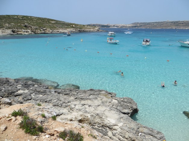The Blue Lagoon on Comino Island
