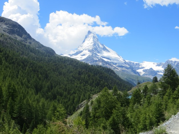 Just in case you thought you were done seeing pictures of the Matterhorn