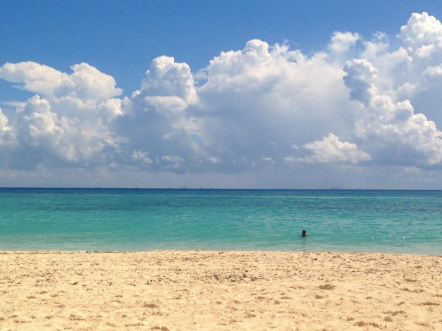 The waters of Playa del Carmen are some of the most beautiful in the world.