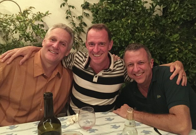 That night was dinner with Paul & Keith, former Kennedy School classmates, along with Paul's wife Susie