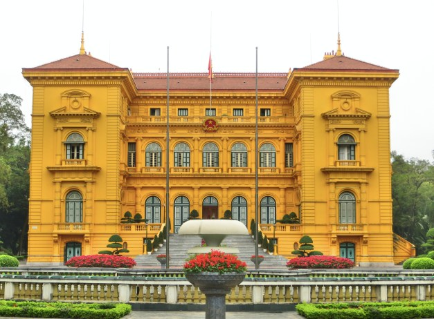 The fabulous Presidential Palace