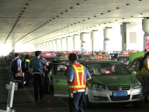 Arriving at Chengdu Airport this is the line of taxis, a harbinger of how easy it was going to be getting around the city. It made me think of arriving at Logan in Boston and waiting for 20 minutes sometimes for a cab home.