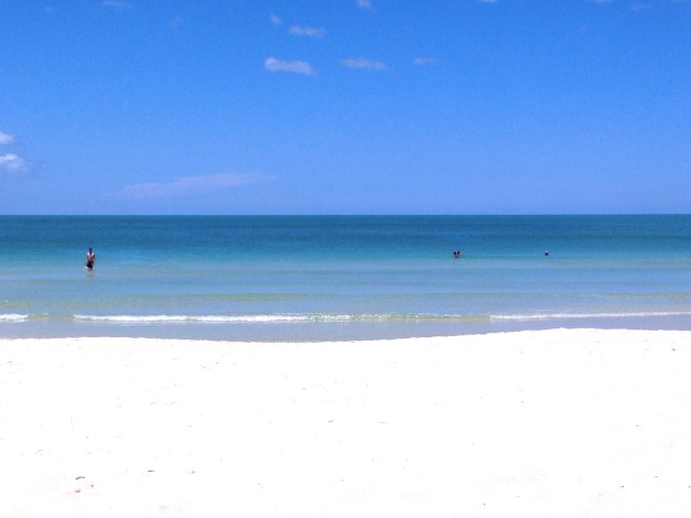 My view of the Gulf of Thailand from the beach chair on Chaweng Beach. It doesn't get much better.