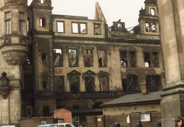 One more picture of the still-devastated Dresden from Mark's 1984 trip