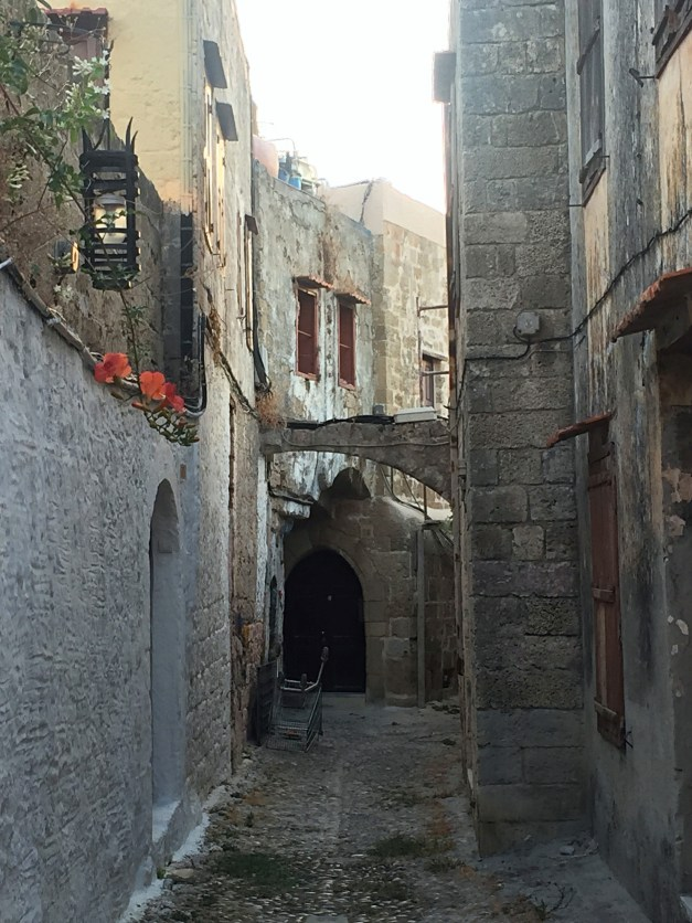 One of the little winding streets to our hotel