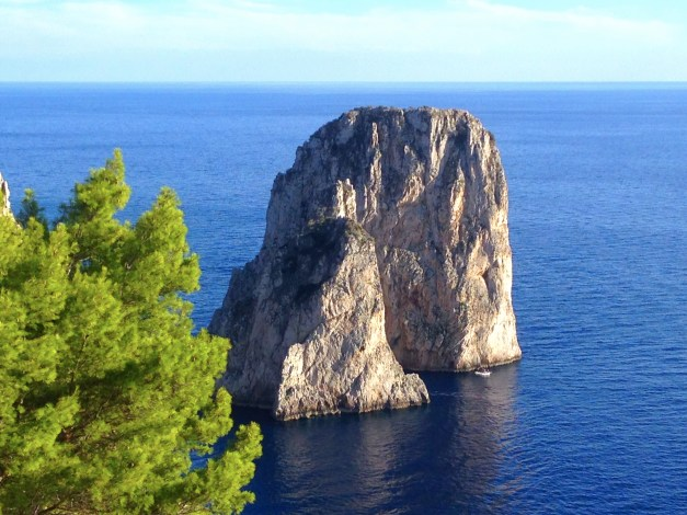 No matter how many times I come to Capri I always love the views of the Faraglioni