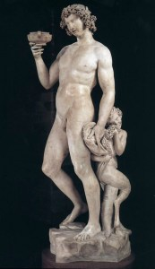 This depiction of Bacchus, sculpted by a young Michelangelo, was in the Bargello. Amusingly, the statue was rejected by the guy who commissioned it as he felt Bacchus looked, well, a little tipsy or something.