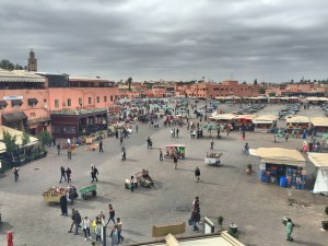 First stop after arrival was lunch in Jemaa El-Fna, Marrakech's main square and allegedly the busiest square in all of Africa