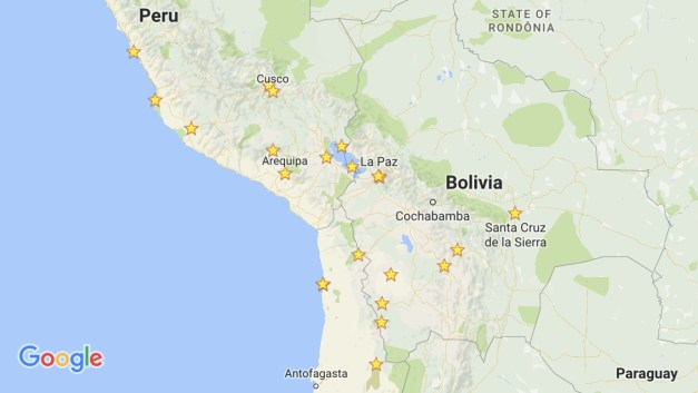 Our two-month journey through southern Peru, northern Chile, and western Bolivia. It's been a great run!