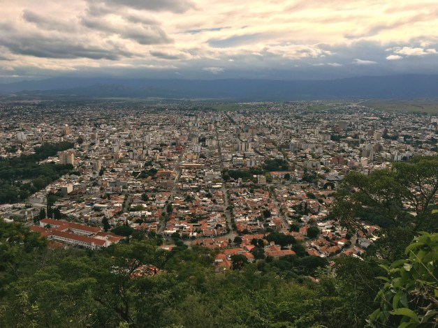 View of Salta from St. Bernard Hill