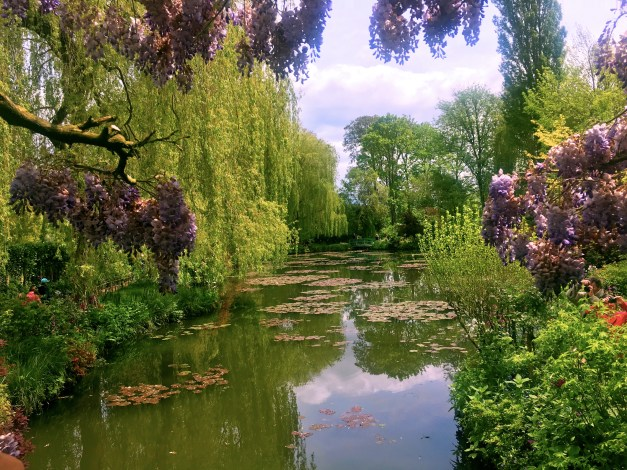 Water lilies in Giverny
