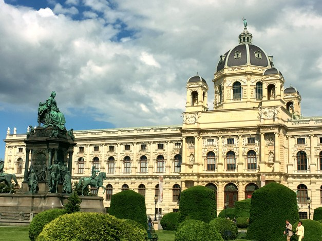 Vienna is great old palaces